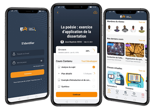 Application mobile E-repetiteur